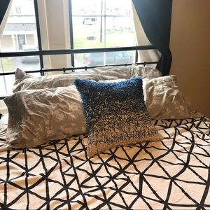 NWT Crate&Barrel Down Filled Pillow